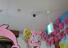 広島市安佐南区老人ホーム施設防犯カメラ5台設置工事