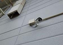 三原市アパート 遠隔監視防犯カメラ2台設置工事