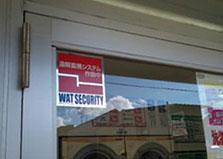 広島市中区コインランドリー 防犯カメラ1台設置工事