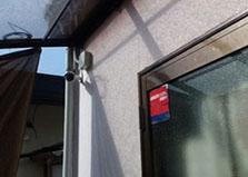 広島市安佐北区某飲食店様 防犯カメラ4台設置工事
