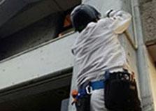 安芸郡熊野町マンション防犯カメラ6台設置工事