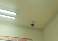 自販機プランで全て無料!広島県店舗様防犯カメラ6台設置工事