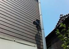 空き巣対策に防犯カメラを!広島市西区戸建て防犯カメラ設置工事