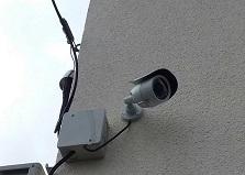 ばれにくいダミーカメラ!安芸郡戸建て防犯カメラ3台設置工事