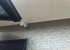 自主防犯で犯罪を防ぐ!福山市アパート防犯カメラ3台設置工事