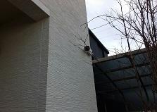 丁寧な施工を!広島市安芸区戸建て防犯カメラ設置工事