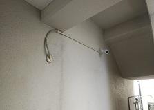 設置後入居率UP!広島市南区マンション防犯カメラ設置工事