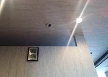 女性スタッフも安心!岡山市北区エステ店舗防犯カメラ設置工事