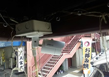他社カメラ故障交換もおまかせ!広島市佐伯区防犯カメラ設置工事
