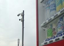自販機プランで無料設置!山口県岩国市防犯カメラ設置工事