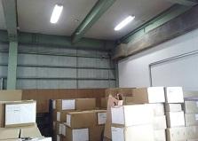 5台以上もお任せ下さい!福山市事務所・倉庫防犯カメラ設置工事