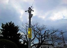 機器寿命は設置方法で決まる!広島市地域防犯カメラ設置工事