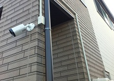現地調査お見積り完全無料!大竹市戸建て防犯カメラ設置事例