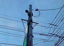 設置後も充実サポート!広島市東区駐車場防犯カメラ設置工事
