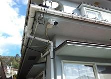1台設置もご相談下さい!福山市戸建て防犯カメラ設置工事