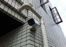 2019.2.15 広島市東区マンション防犯カメラ1台設置工事