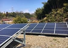 2019.3.22 東広島市太陽光発電施設 監視カメラ設置工事
