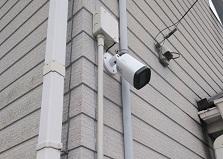 2019.4.27 鳥取県米子市戸建て防犯カメラ設置工事