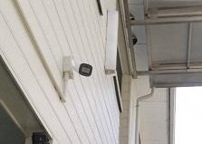 2019.4.22 広島市安佐北区アパート防犯カメラ設置工事