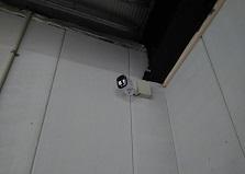 2019.4.5 広島県福山市ビル駐輪場防犯カメラ設置工事