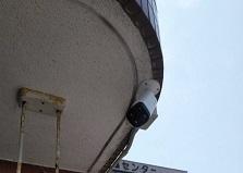 2019.5.21 広島市マンション防犯カメラ設置工事[自動販売機プラン]