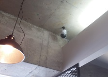 2019.5.17 広島市佐伯区美容室ネットワークカメラ設置工事