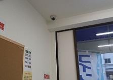 2019.5.9 広島市中区コインランドリー店舗防犯カメラ設置工事