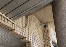 2019.6.19 広島市内マンションネットワークカメラ設置工事