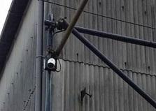 2019.7.19 広島市企業様倉庫クラウドカメラ設置工事