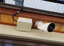 2019.7.4 広島市安佐南区戸建て住宅家庭用防犯カメラ設置工事
