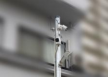 2019.7.16 廿日市市資材置き場防犯カメラ設置工事