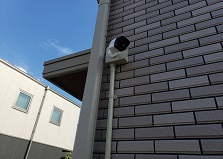 2019.8.28 岡山市戸建て住宅防犯カメラ設置工事