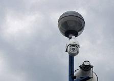 2019.8.20 広島市内 船舶管理施設 監視カメラ設置工事