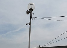 2019.9.21 福山市 自動車整備工場様 防犯カメラ設置工事