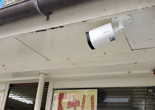 2019.10.21 広島県不動産会社様 防犯カメラ設置工事