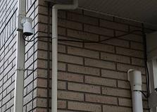2019.11.22 広島市賃貸アパート 防犯カメラ設置工事