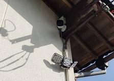 2020.1.27 岡山市戸建て住宅防犯カメラセンサーライト設置事例
