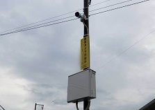 2020.1.21 広島市地域防犯カメラ補助金事業 防犯カメラ設置工事