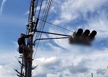 2020.2.25 広島市防犯カメラ設置補助事業 防犯カメラ設置工事
