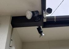 2020.2.18 山口県戸建て住宅 防犯カメラ/センサーライト設置工事
