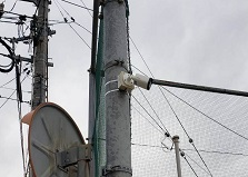 2020.3.12 東広島市公園施設 防犯カメラ設置工事自動販売機プラン