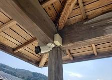 2020.4.18 広島市戸建て住宅家庭用防犯カメラ設置工事