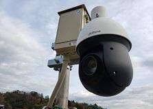2020.3.23 広島県呉市宿泊施設様 高性能PTZカメラ設置工事