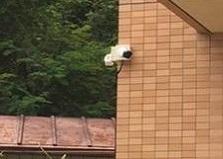 2020.5.27 東広島市マンション 防犯カメラ設置工事