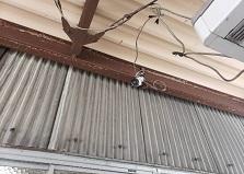 2020.5.14 広島市企業様事務所兼倉庫 防犯カメラ設置工事