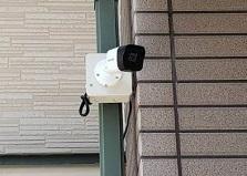 2020.6.17 広島市戸建て住宅 防犯カメラ設置工事