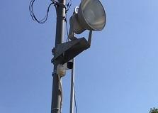 2020.6.12 広島市資材置き場防犯カメラシステム導入工事