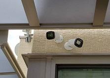 2020.7.27 広島市戸建て住宅 防犯カメラ設置工事