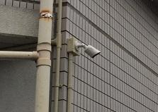 2020.7.17 広島県府中市アパート物件 防犯カメラ設置工事