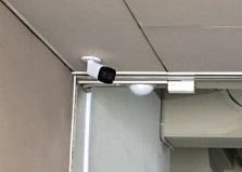 山口県企業様事務所 防犯カメラ設置工事